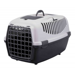 TR-39831 Trixie Caja de transporte, Capri 3, para perros, tamaño S 40 por 38 y 61 cm. Jaula de transporte