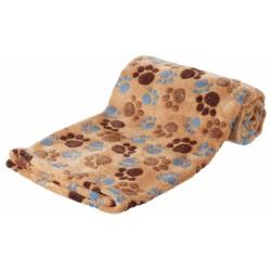 Laslo Beige Decke für Hunde