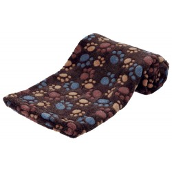 dark brown laslo blanket for dog Dodo Trixie TR-37204D