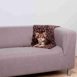 couverture brun foncé laslo pour chien Dodo Trixie TR-37204D