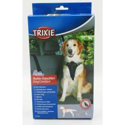 TR-12856 Trixie Arnés para el arnés del coche del perro de la comodidad del perro M Transport