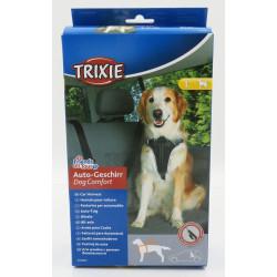 Harnais pour voiture Dog Comfort L pour chien Aménagement voiture Trixie TR-12857