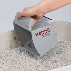 KeDDii Scoop TR-DS-40535 Chipboard litter shovel grey KeDDii scoop litter accessory