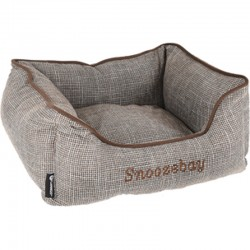 Rectangular brown Snoozebay basket 50 x 40 x 18 cm - DOG Dodo Flamingo FL-519411