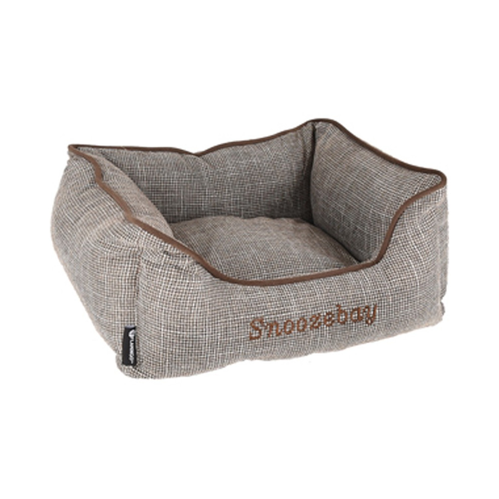 Rectangular brown Snoozebay basket 50 x 40 x 18 cm - DOG Dodo Flamingo FL-519411