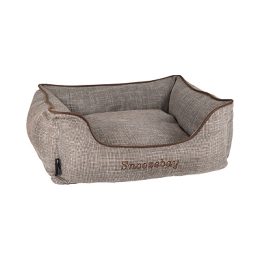 Rectangular brown Snoozebay basket 60 x 50 x 50 x 20 cm Dodo Flamingo FL-519412