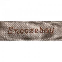Rectangular brown Snoozebay basket 70 x 60 x 22 cm - DOG Dodo Flamingo FL-519413