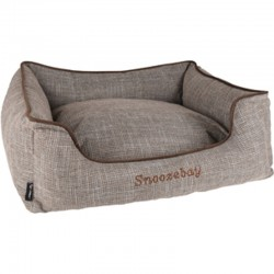 Rectangular brown Snoozebay basket 70 x 60 x 22 cm - DOG Dodo Flamingo FL-519413