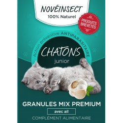 novealand Nahrungsergänzungsmittel KITTENS mit vorbeugender Anti-Parasiten-Wirkung - 36 Gramm GR4-36-PCAT Nahrungsergänzungsm...