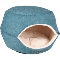 FL-560766 Flamingo Cesta 45 x 35 x 35 cm Snozebay 2 en 1 azul para gato o perro pequeño Dormir
