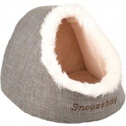 Basket 38 x 40 x 40 x 32 cm brown snoozebay igloo for cats Flamingo bed FL-560764