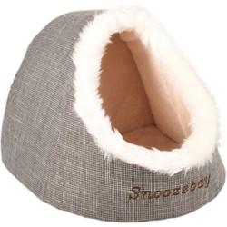 Panier 38 x 40 x 32 cm igloo snoozebay brun pour chat Couchage Flamingo FL-560764