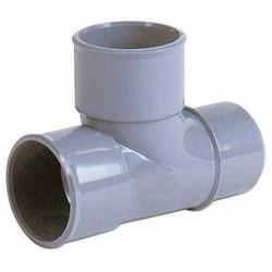 Interplast IN-SRBPBM87050 Te PVC ø 50 plumbing evacuation F.M PVC drainage connection