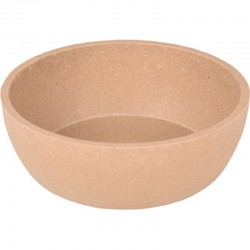 Flamingo FL-518916 Rimboé bamboo bowl 450 ML. Taupe colour for cat or dog Bowl, bowl, bowl