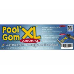 toucan une recharge pour Tête de Balais - Pool Gom XL TOU-400-0012 Brosse