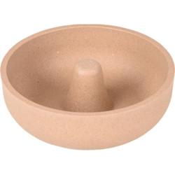 Flamingo FL-518914 Rimboe 500 ML. Anti-Glutter Bowl, Rimboe, anti-slip, taupe, for dogs Bowl, bowl, bowl