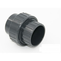 A mixed union 3 pieces ø 20 with one side 1/2'' female thread PVC FITTINGS Generic SO-RUM20F
