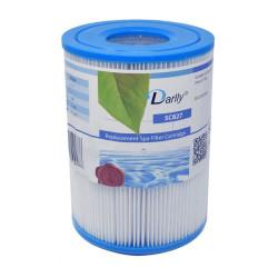 Darlly europe SC827 lot de 2 Filtres spa darlly (Cartouche de spa intex S1) Filtre cartouche