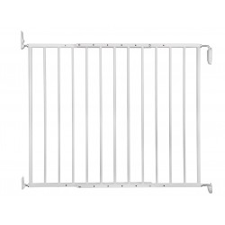Vadigran White Tom fence H 73 cm adjustable from 67 cm to 113 cm. for dogs. Barriere pour chien