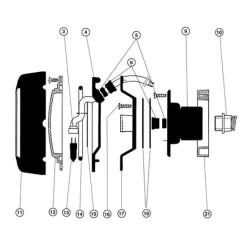 HAYWARD Kabelverschraubungskappe PHP34010 premium cofies Projektor 100W SC-HAY-301-0058 Projektoren