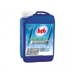 HTH Green to blue, extra shock, 5 litres. SC-AWC-500-0151 HTH
