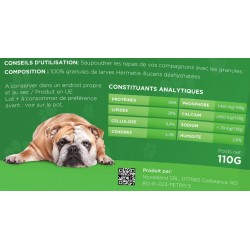 novealand alimentaire CHIEN - 110 grammes Complément GR2-110-DOC Complément alimentaire