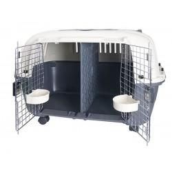 Cage de transport Nomad 2 portes L 56 X 87 X 65 CM Cage de transport Flamingo FL-516874