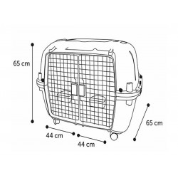 Flamingo FL-516874 Transport cage, Nomad, 2 doors, size: L 56 X 87 X 65 CM Transport cage