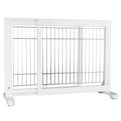 Trixie Cancello per cani regolabile Dimensioni: 65-108 × 61 cm TR-39455 Niche