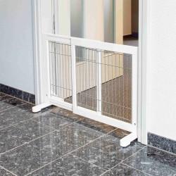 Barrière pour chiens réglable 65-108 × 61 cm Niche, barrière et parc Trixie TR-39455