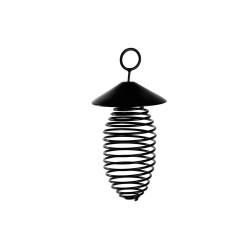 Vadigran Hanging holder for spiral-shaped chickadee greaseballs Outdoor feeders