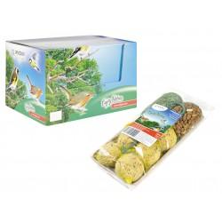 MIX FILET ET BOULES DE GRAISSE POUR OISEAUX 8 PIECES 890 GR ENJOY NATUR Nourriture Vadigran VA-12896