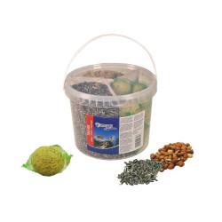 Vadigran Seau 3 mix pour oiseaux 2.6 Kg ENJOY NATURE VA-5266 Nourriture