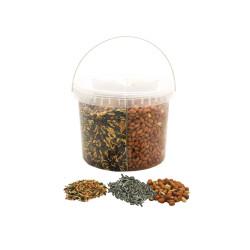 Vadigran Seaux 3 melanges de graines - 2.7 kg pour oiseaux Nourriture graine
