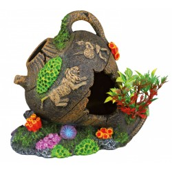 Pot 12 cm fish decoration aquarium decoration Decoration and other Trixie TR-87800