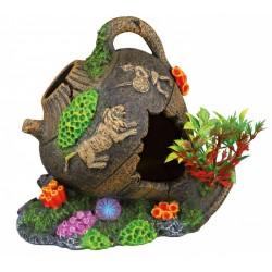 Pot 12 cm décoration poisson aquarium Décoration et autre  Trixie TR-87800