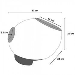 Interactive ball thrower games 33 x 24 x 29 cm Elton. Flamingo FL-519519 Flamingo Reward Games