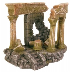 Ruine romaine 13 cm décoration poisson Décoration et autre  Trixie TR-8802