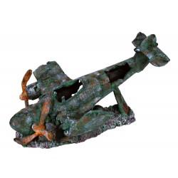 Trixie flugzeug 35 cm Fischdekoration TR-8707 Dekoration und Sonstiges