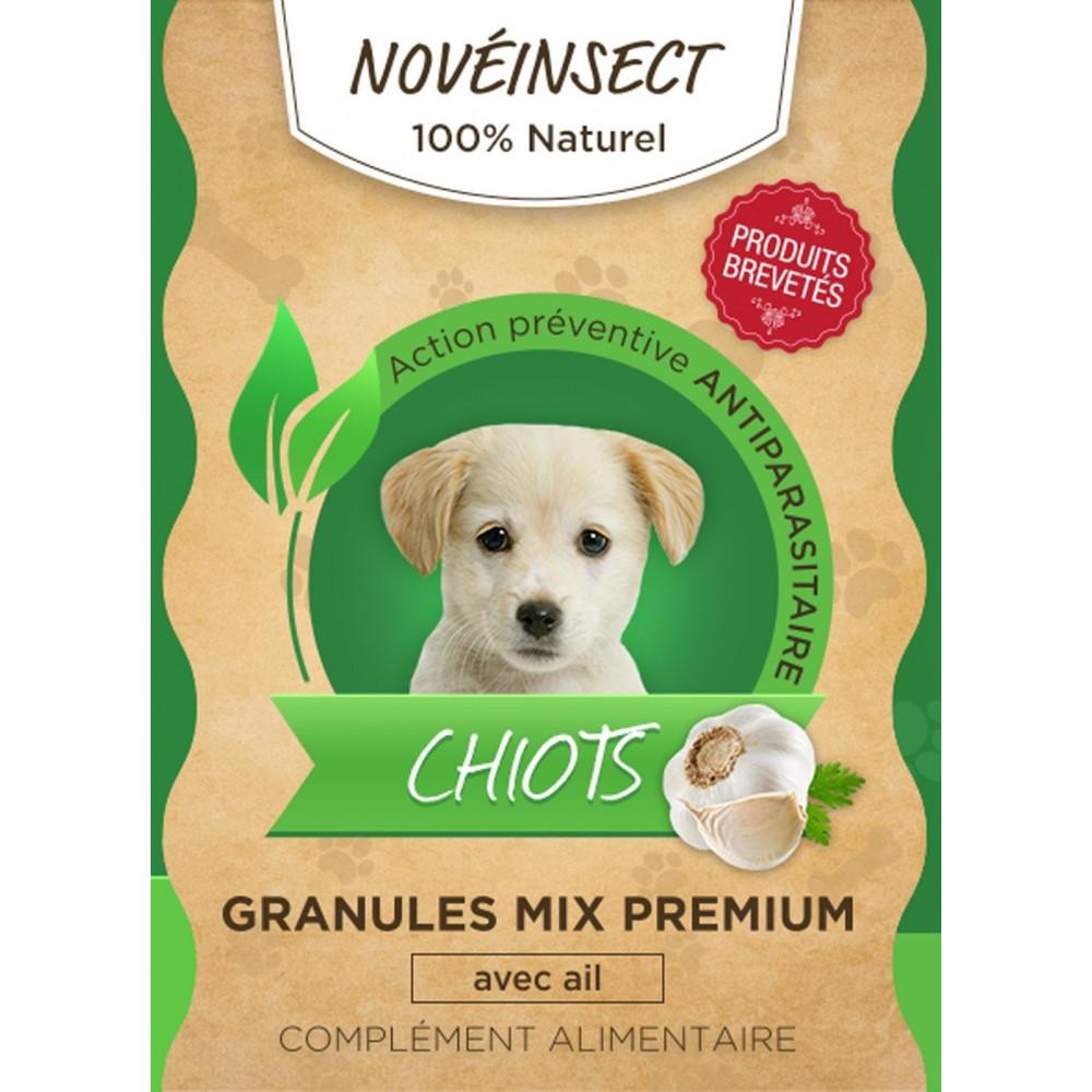 alimentaire CHIOTS Complément avec action préventif anti-parasitaire - 36 grammes Nourriture novealand GR4-36-PDOG2