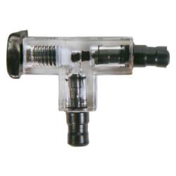 Connecteur en T avec valve...