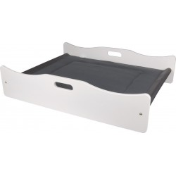 Flamingo FL-560789 Nova bed 79 x 61 x 17.5 cm white for cat and small dog. Sleeping