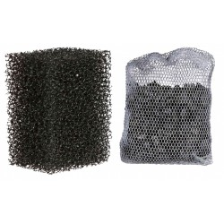 Trixie TR-86124 2 sponge filters and 1 activated carbon filter for pump 86120 aquarium pump