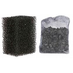 Trixie 2 filtres éponge et 1 filtre charbon actif. pour pompe d'aquarium 86130 TR-86134 pompe aquarium