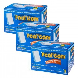 toucan 3 Boxes Pool Gom water line cleaning pool (set of 9 pieces) Brushes