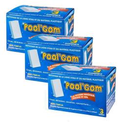 BP-51439007-x3 toucan 3 Cajas de Pool Gom Gom piscina de limpieza de la línea de agua (juego de 9 piezas) Cepillos