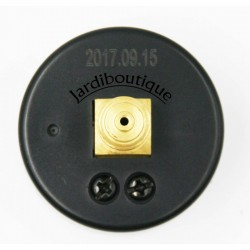 """MT MPISA50/030 MT pressure gauge for swimming pool filter rear mounting rear connection 1/4"""" threads  Pressure gauge"""