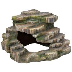 Rocher d'angle avec grotte et plateforme 26 x 20 x 26 cm Décoration et autre  Trixie TR-76196