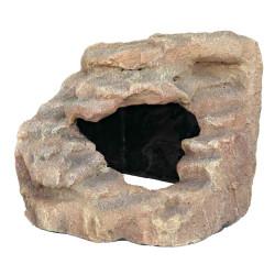 Trixie Eckfelsen mit Höhle und Plattform. 21 x 20 x 18 cm. für Reptilien TR-76207 Dekoration und Sonstiges