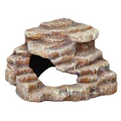 Rocher d'angle avec grotte et plateforme 27 x 21 x 27 cm Décoration et autre  Trixie TR-76208